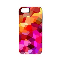 Geometric Fall Pattern Apple iPhone 5 Classic Hardshell Case (PC+Silicone)
