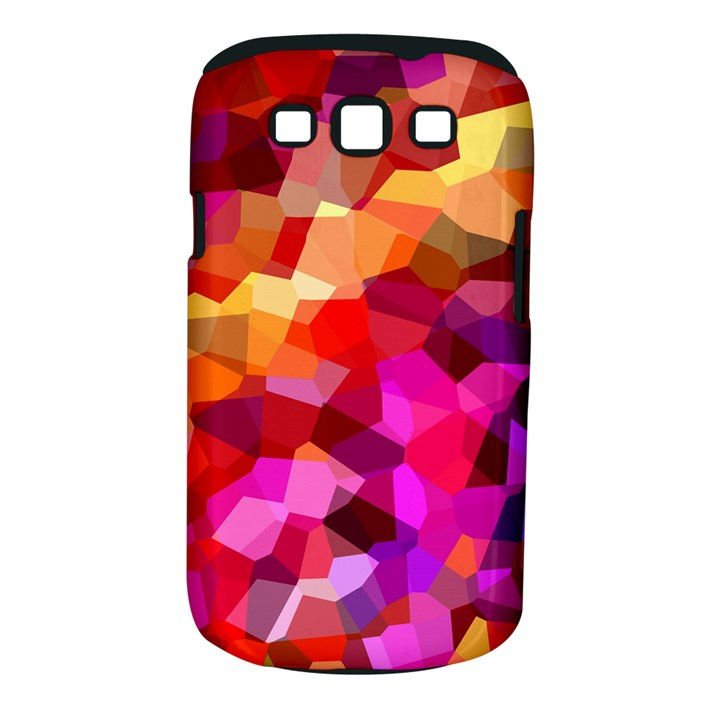 Geometric Fall Pattern Samsung Galaxy S III Classic Hardshell Case (PC+Silicone)