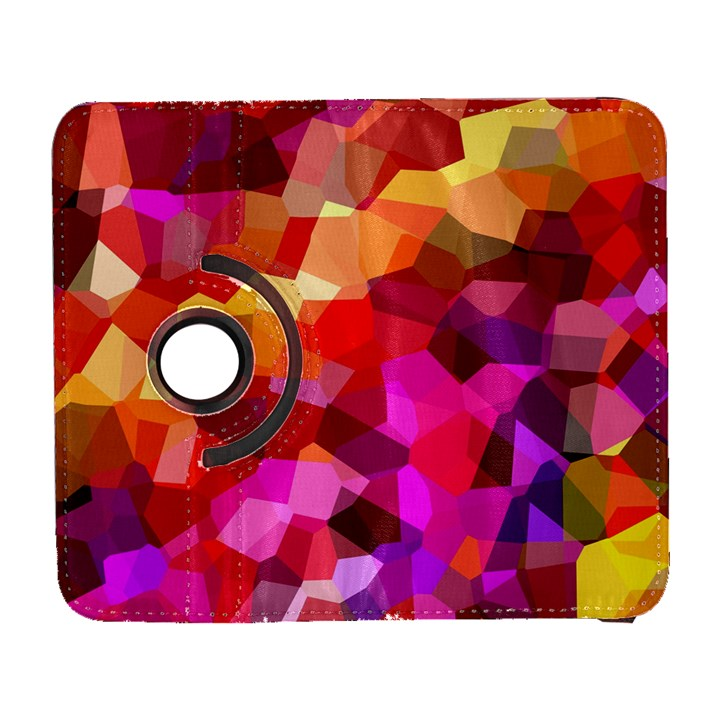 Geometric Fall Pattern Samsung Galaxy S  III Flip 360 Case