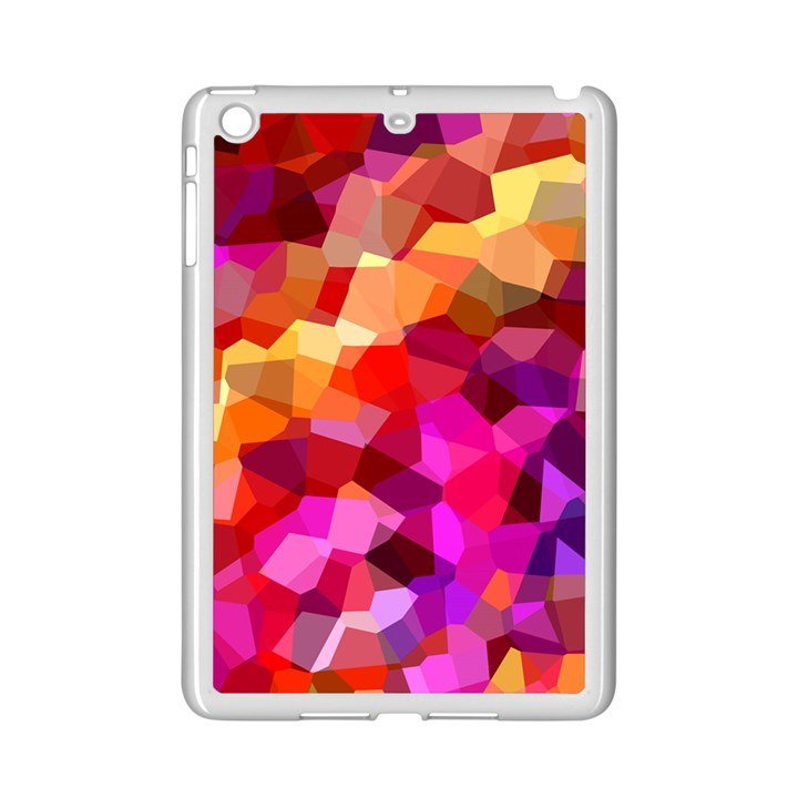 Geometric Fall Pattern iPad Mini 2 Enamel Coated Cases
