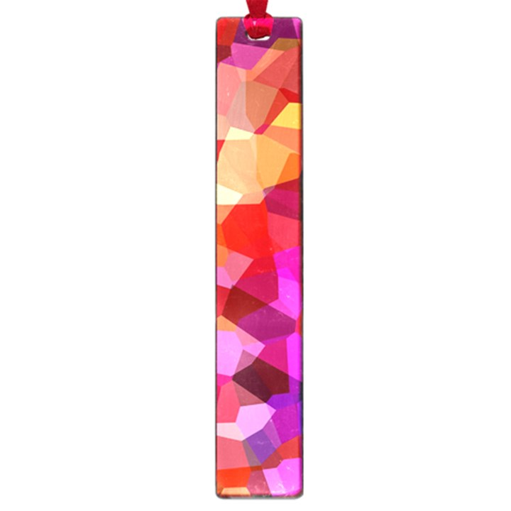 Geometric Fall Pattern Large Book Marks