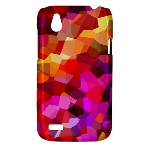 Geometric Fall Pattern HTC Desire V (T328W) Hardshell Case