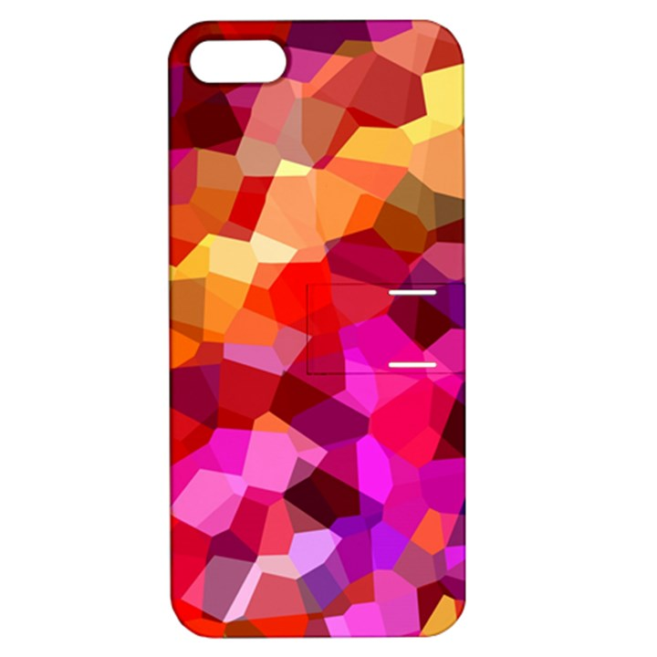 Geometric Fall Pattern Apple iPhone 5 Hardshell Case with Stand