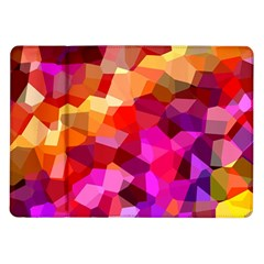 Geometric Fall Pattern Samsung Galaxy Tab 10.1  P7500 Flip Case