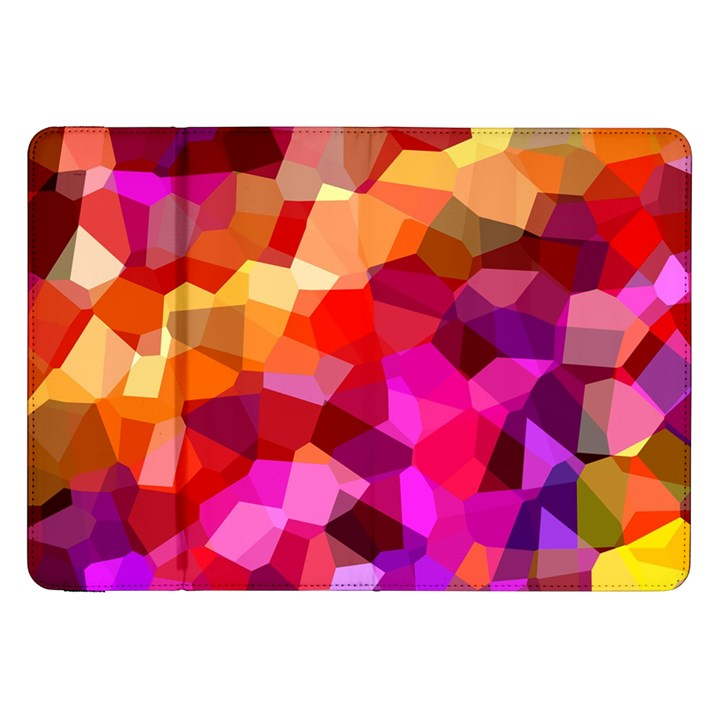 Geometric Fall Pattern Samsung Galaxy Tab 8.9  P7300 Flip Case