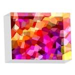 Geometric Fall Pattern 5 x 7  Acrylic Photo Blocks Front