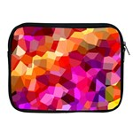 Geometric Fall Pattern Apple iPad 2/3/4 Zipper Cases Front