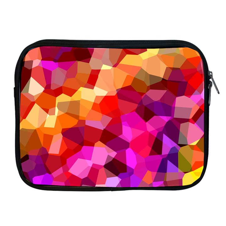 Geometric Fall Pattern Apple iPad 2/3/4 Zipper Cases
