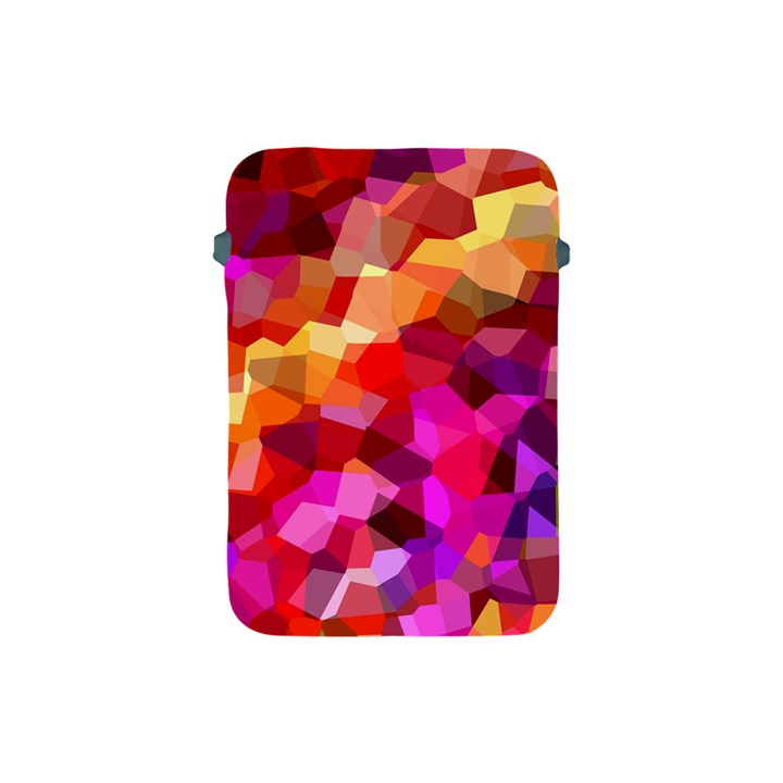Geometric Fall Pattern Apple iPad Mini Protective Soft Cases