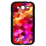 Geometric Fall Pattern Samsung Galaxy Grand DUOS I9082 Case (Black) Front