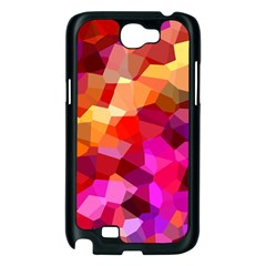 Geometric Fall Pattern Samsung Galaxy Note 2 Case (Black)