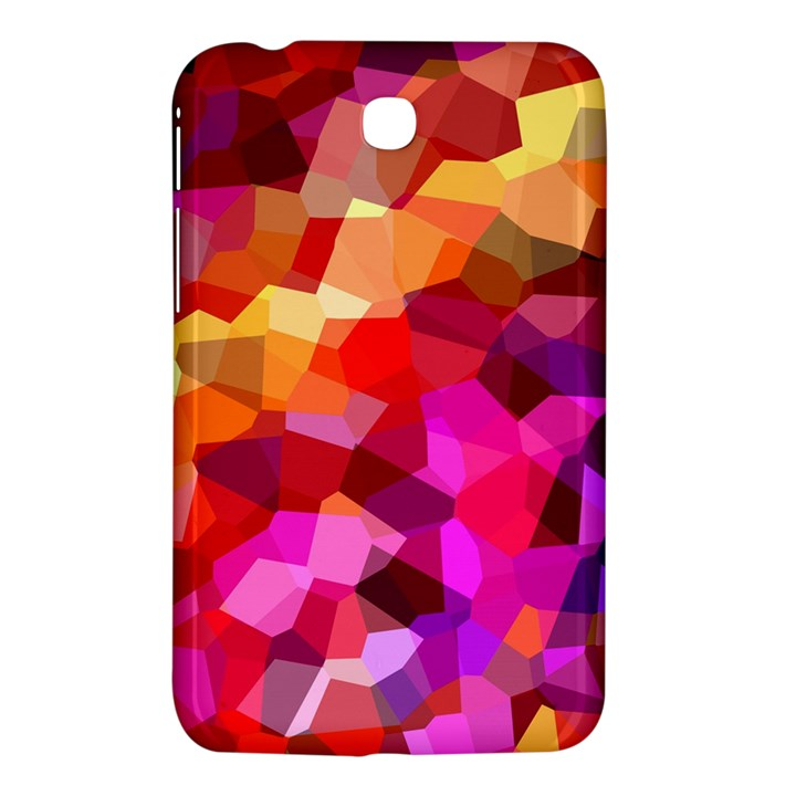 Geometric Fall Pattern Samsung Galaxy Tab 3 (7 ) P3200 Hardshell Case