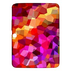 Geometric Fall Pattern Samsung Galaxy Tab 3 (10 1 ) P5200 Hardshell Case