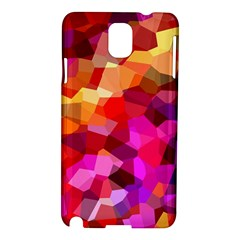 Geometric Fall Pattern Samsung Galaxy Note 3 N9005 Hardshell Case