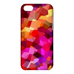Geometric Fall Pattern Apple iPhone 5C Hardshell Case