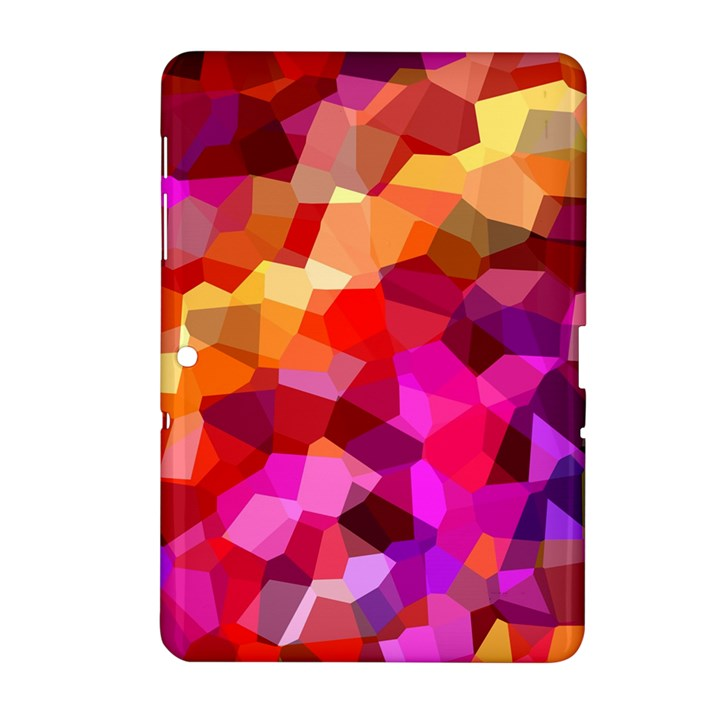 Geometric Fall Pattern Samsung Galaxy Tab 2 (10.1 ) P5100 Hardshell Case