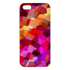 Geometric Fall Pattern iPhone 5S/ SE Premium Hardshell Case