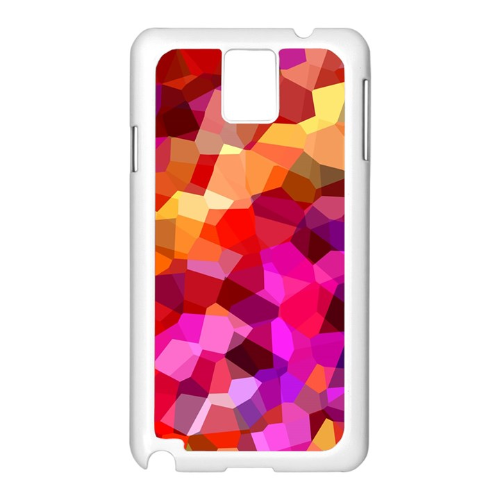 Geometric Fall Pattern Samsung Galaxy Note 3 N9005 Case (White)