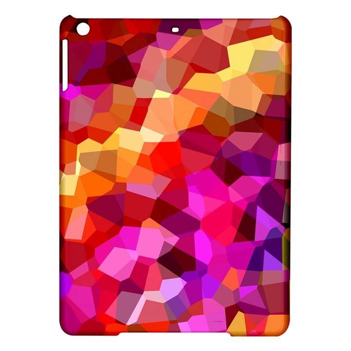 Geometric Fall Pattern iPad Air Hardshell Cases