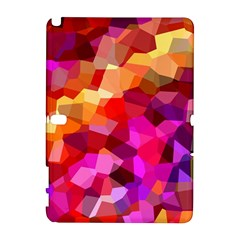 Geometric Fall Pattern Samsung Galaxy Note 10 1 (p600) Hardshell Case