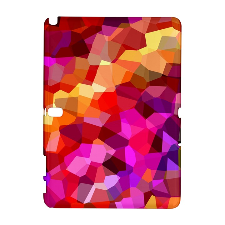 Geometric Fall Pattern Samsung Galaxy Note 10.1 (P600) Hardshell Case