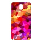 Geometric Fall Pattern Samsung Galaxy Note 3 N9005 Hardshell Back Case Front