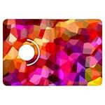 Geometric Fall Pattern Kindle Fire HDX Flip 360 Case Front