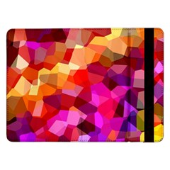 Geometric Fall Pattern Samsung Galaxy Tab Pro 12 2  Flip Case