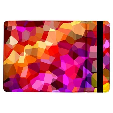 Geometric Fall Pattern iPad Air Flip