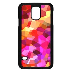 Geometric Fall Pattern Samsung Galaxy S5 Case (black)