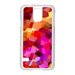 Geometric Fall Pattern Samsung Galaxy S5 Case (White) Front