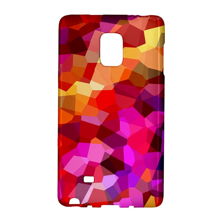 Geometric Fall Pattern Galaxy Note Edge