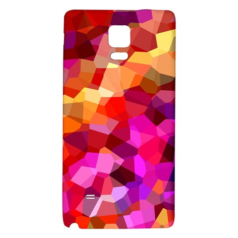Geometric Fall Pattern Galaxy Note 4 Back Case