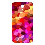 Geometric Fall Pattern Samsung Galaxy Mega I9200 Hardshell Back Case Front