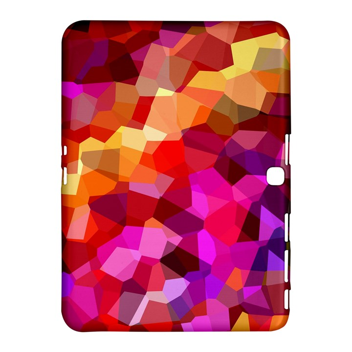 Geometric Fall Pattern Samsung Galaxy Tab 4 (10.1 ) Hardshell Case