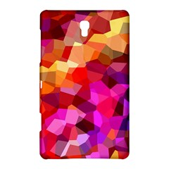 Geometric Fall Pattern Samsung Galaxy Tab S (8.4 ) Hardshell Case