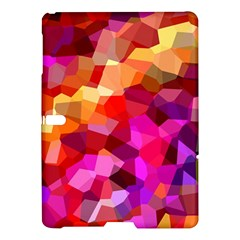 Geometric Fall Pattern Samsung Galaxy Tab S (10.5 ) Hardshell Case