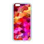 Geometric Fall Pattern Apple Seamless iPhone 6/6S Case (Color) Front