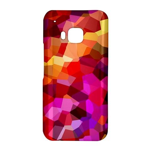 Geometric Fall Pattern HTC One M9 Hardshell Case
