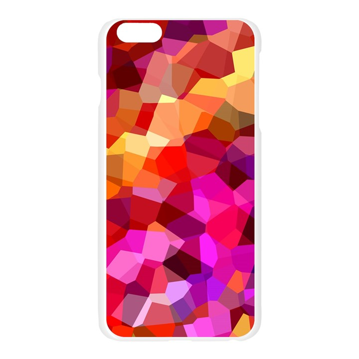 Geometric Fall Pattern Apple Seamless iPhone 6 Plus/6S Plus Case (Transparent)
