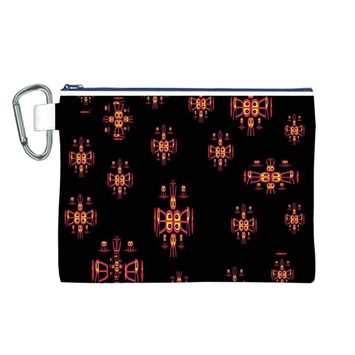 Alphabet Shirtjhjervbretilihhj Canvas Cosmetic Bag (L)