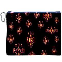 Alphabet Shirtjhjervbretilihhj Canvas Cosmetic Bag (xxxl)