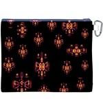 Alphabet Shirtjhjervbretilihhj Canvas Cosmetic Bag (XXXL) Back