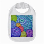 India Ornaments Mandala Balls Multicolored Bib Front