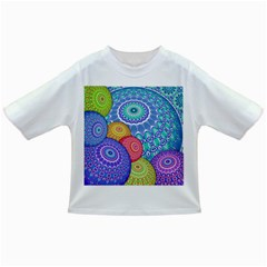 India Ornaments Mandala Balls Multicolored Infant/toddler T Shirts