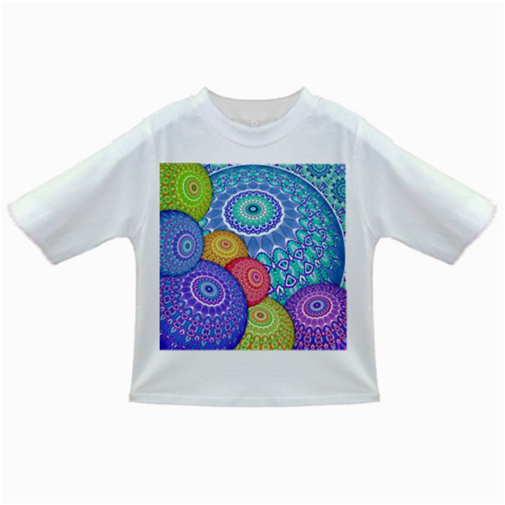 India Ornaments Mandala Balls Multicolored Infant/Toddler T-Shirts