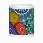 India Ornaments Mandala Balls Multicolored Night Luminous Mugs Center