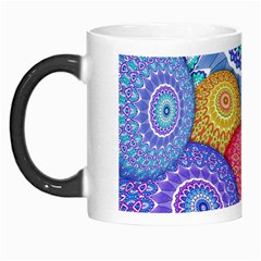 India Ornaments Mandala Balls Multicolored Morph Mugs