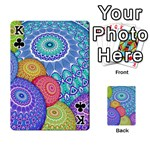 India Ornaments Mandala Balls Multicolored Playing Cards 54 Designs  Front - ClubK