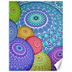 India Ornaments Mandala Balls Multicolored Canvas 12  x 16   16 x12 Canvas - 1